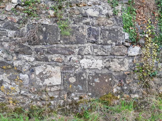 Church boundary wall