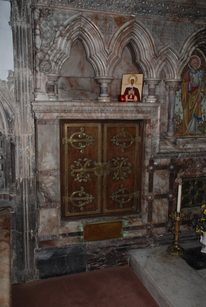 Shrine of St Eanswythe