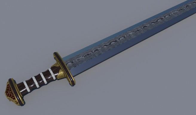 Sutton Hoo sword replica