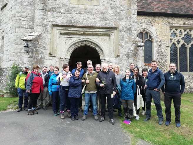 Pilgrims at Charing
