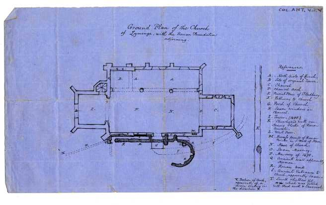Jenkins plan of church field notes