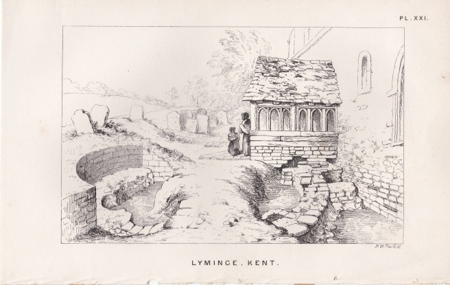 Lyminge excavations c1861