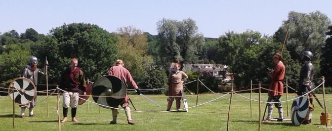 Ost Centingas swordplay 30 Jun 19