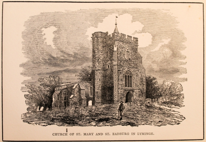 St Mary and St Eadburg from Jenkins 1859