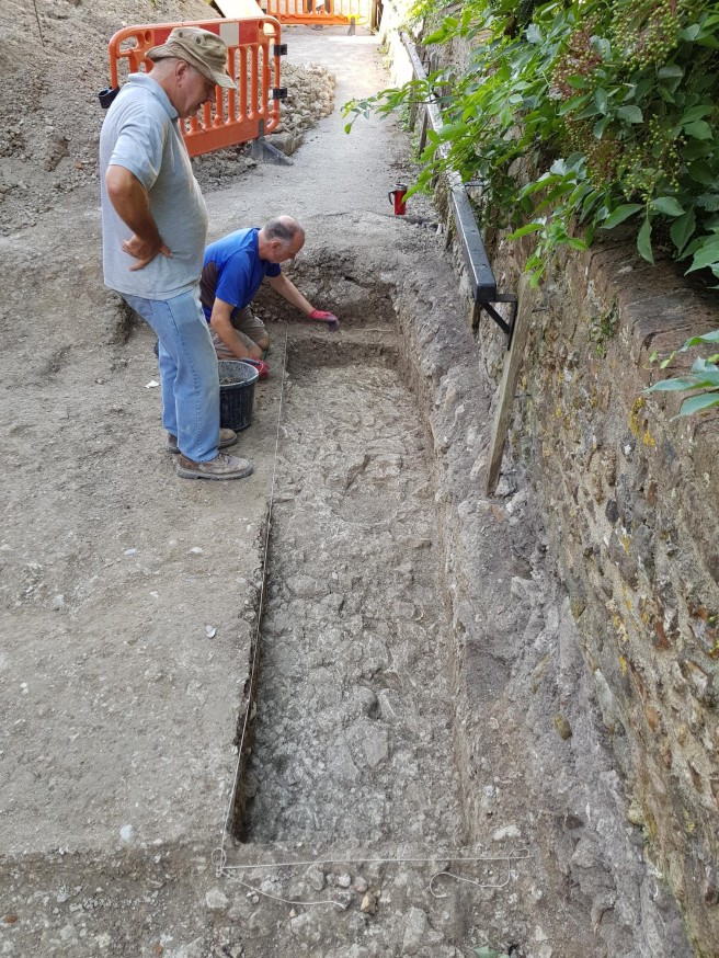 07 Aug buttress trench 2