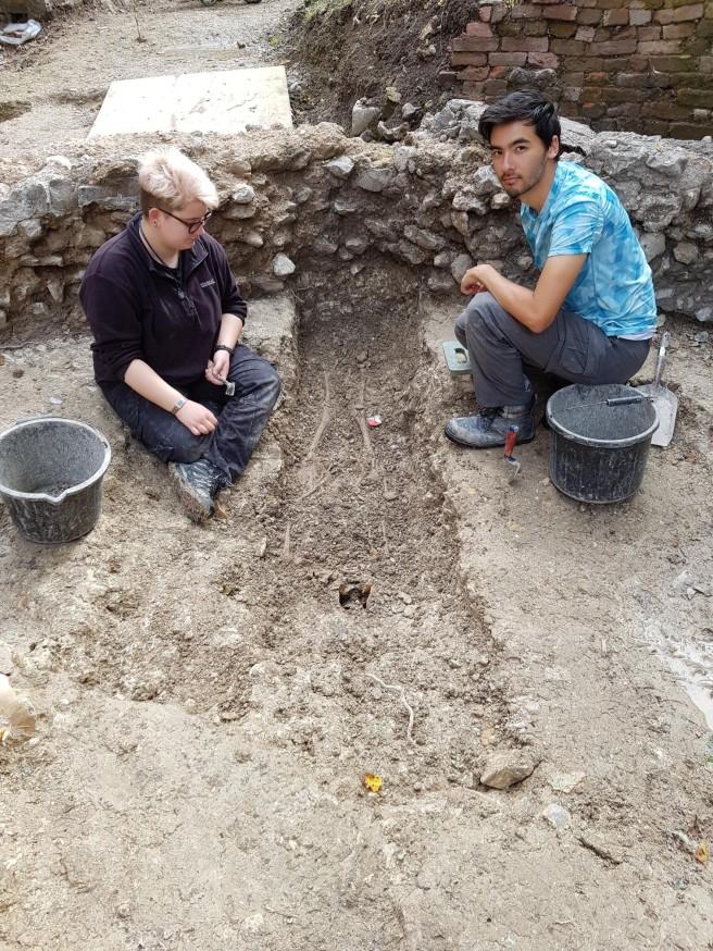 16 Aug chancel burial 1