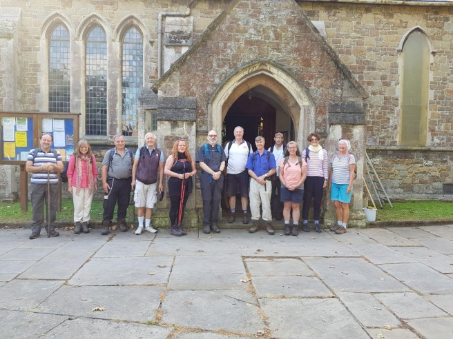 29 Aug pilgrims at Folkestone