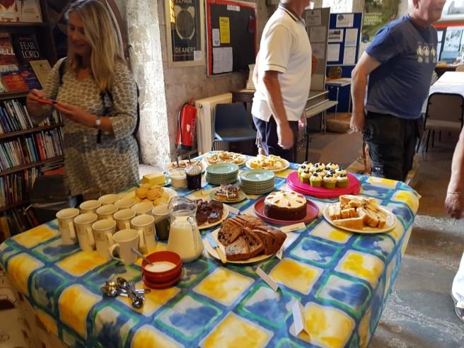 29 Aug tea at Lyminge