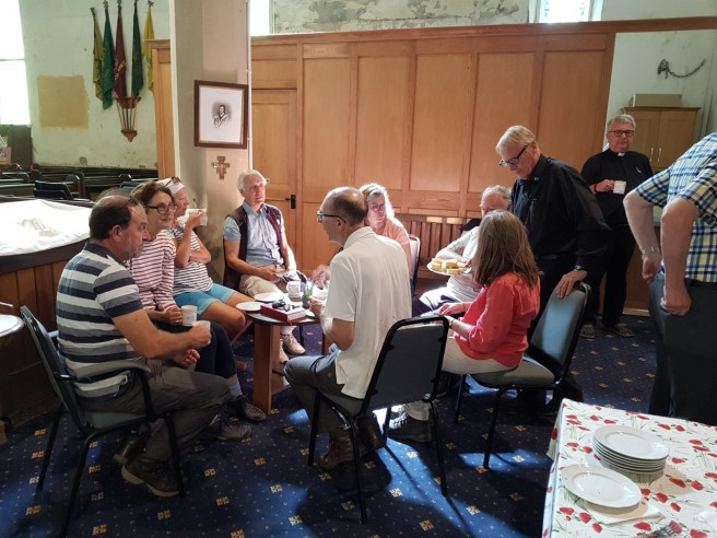 29 Aug tea at St Pauls