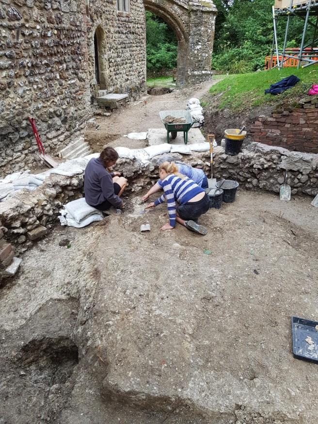 30 Jul burial in chancel