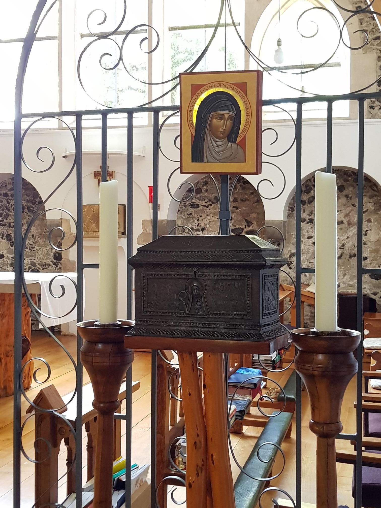 Shrine of St Mildreth