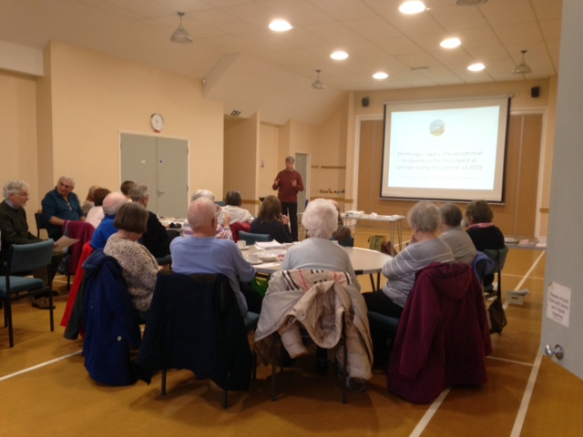 25 Nov 19 Talk at Etchinghill