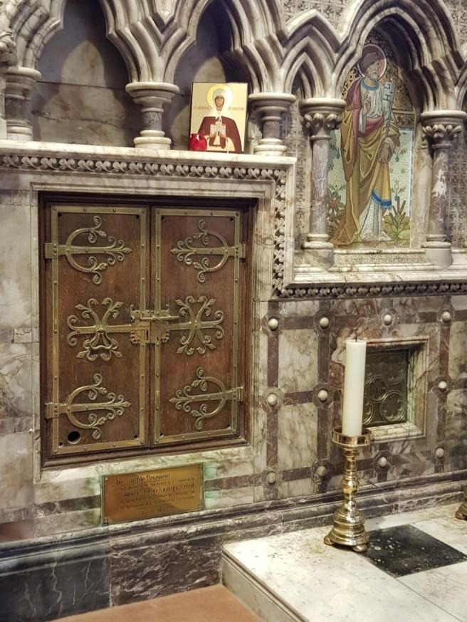 Shrine of St Eanswythe